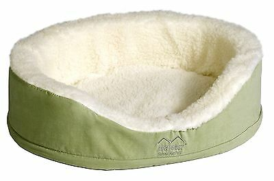 Midwest Quiet Time e'Sensuals Orthopedic Nesting Bed 25 Diameter (Sage) S... New