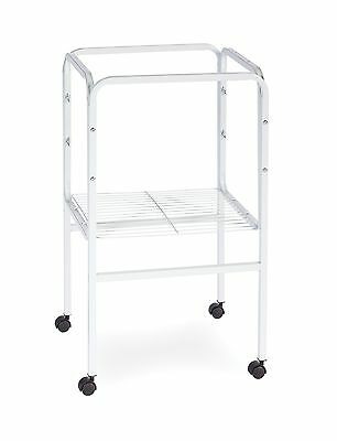 Prevue Pet Products SP445W Bird Cage Stand with Shelf White New
