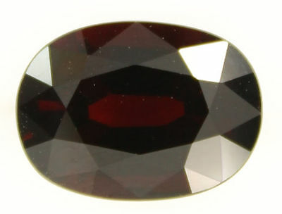 9.82 Carat Dark Red Orange Spessartite Garnet