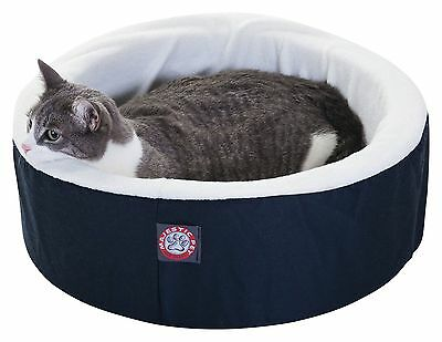 Majestic Pet 16-Inch Cat Cuddler Pet Bed Blue Small New