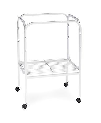 Prevue Pet Products SP444W Bird Cage Stand with Shelf White New