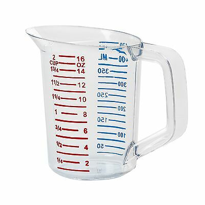 Rubbermaid 16-Ounce Measuring Cup 5 x 5 New