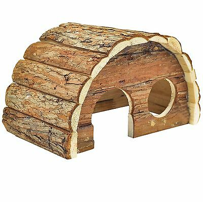NiteangeL Hamsters Gerbils Mice and Other Small Animals Hideout Wooden Ho... New