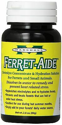 Marshall 2-4/5-Ounce Ferret-Aide Electrolyte/Hydration Concentrate New