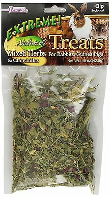 F.M. Brown Extreme Natural Treats Mixed Herbs 1.5-Ounce New