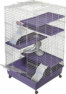 Kaytee Deluxe 24 x 24 Multi-Level Home with Casters New