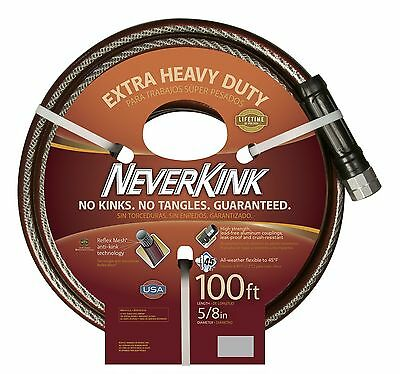 Apex 8642 -100 NeverKink Series 3000 Extra Heavy Duty Garden Hose 5/8-Inc... New