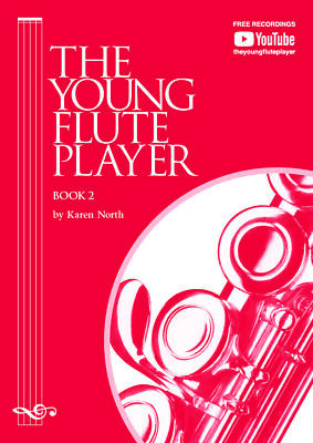 The Young flute Player Book 2- YFP2 - Karen North - **New Edition