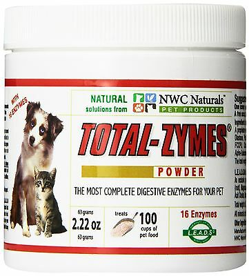 NWC Naturals- Total-Zymes - Enzymes for Canines and Felines - Treats 100 ... New