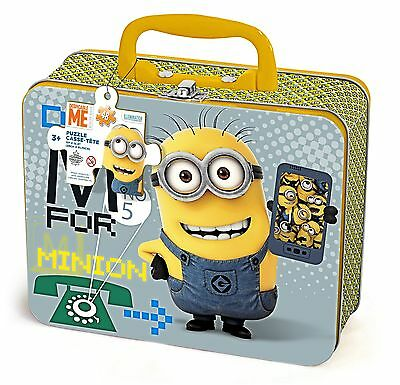 Minions Puzzle in Lunch Box New