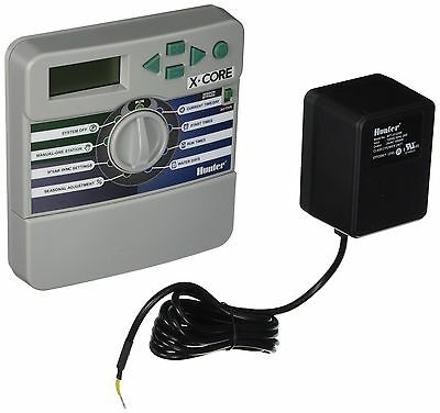 Hunter Sprinklers XC600i X-Core 6-Station Indoor Controller Timer 6 Zone New