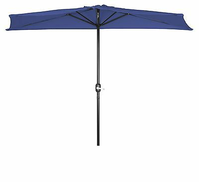 Trademark Innovations Deluxe Offset Patio Umbrella by (Blue) New