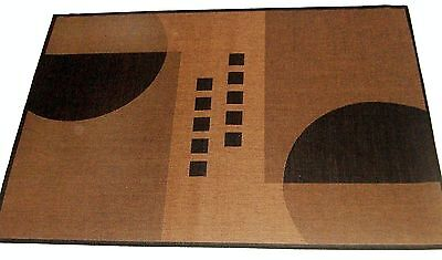 Geo Crafts PPR131 Polypropylene Outdoor Rugs Geometrix 131 5x8 Inch Geo New