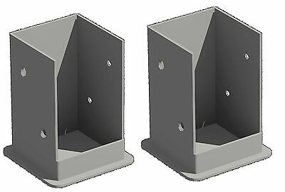 New England Arbors Bolt Down Bracket Kit for Pergola New