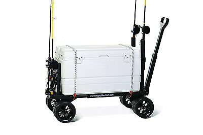 Mighty Max Cart SU600D Sports Fishing and Utility Cart 400 Lb Capacity New