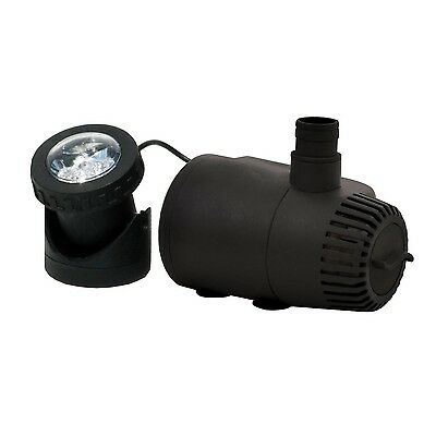 Total Pond MD11400ASL 400 GPH Fountain Pump with Low Water Shut-Off and L... New