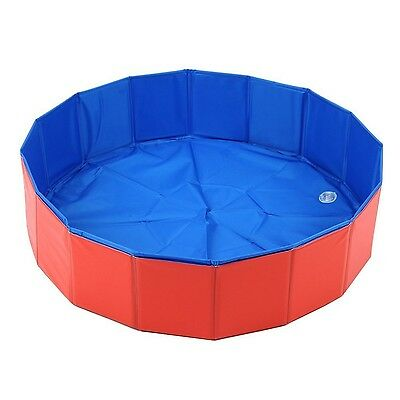 Lalawow SO COOL Foldable Pet Swimming Pool Bathing Tub Bathtub Dog Cats W... New