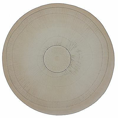 French Home 18-inch Mocha Birch Platter New