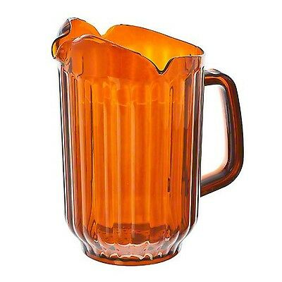 Update International WP-60PB 60-Ounce Amber Polycarbonate Water Pitcher G... New