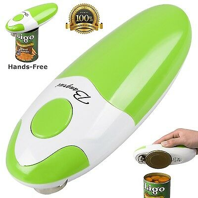 BangRui Smooth Soft Edge Electric Can Opener with One-Button Start and On... New