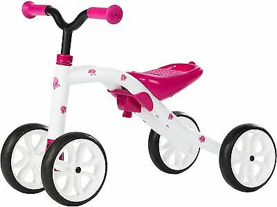 "Chillafish QUADIE: 4-Wheeler ""Grow-with-Me"" Ride-On Quad Pink New"