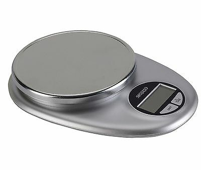 Mosiso - Pro Digital Kitchen Food Scale 1g to 11 lbs Black&Stainless Steel New