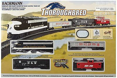 Bachmann Trains Thoroughbred Ready-To-Run HO Scale Train Set New