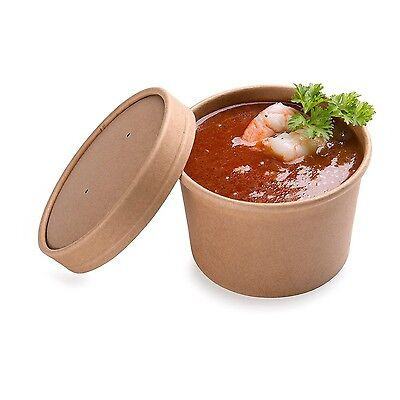 Restaurantware 200-Count 8-Ounce Eco Friendly Bio Soup Container Box with... New