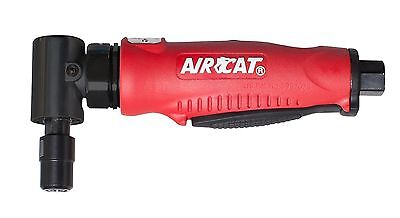 AIRCAT 6255 Professional Series Red Composite Angle Die Grinder with Angl... New