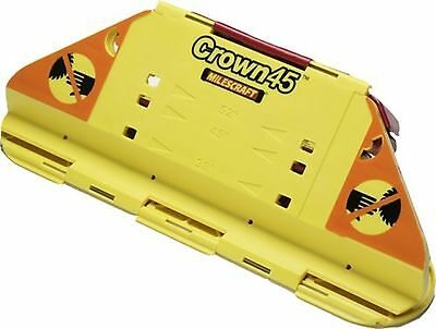 Milescraft 1405 Crown45 Crown Molding Jig for Miter Saws New