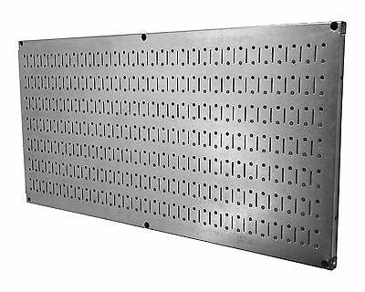 Wall Control 30-HP-1632 GV Horizontal Metal Pegboard Tool Board Panel 16-... New