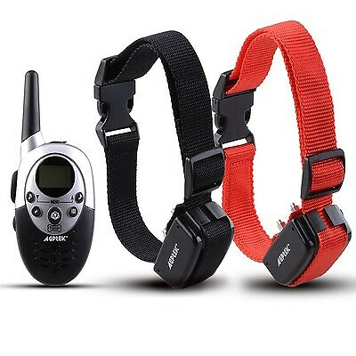 AGPtek2 Dog Shock Training Collar with Remote Waterproof Rechargeable 100... New