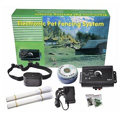 MATOP Waterproof In Ground Pet Dog Electronic Fencing System Wireless Inv... New