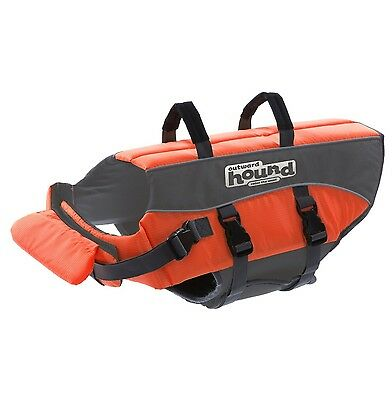 Outward Hound Kyjen 22020 Ripstop Dog Life Jacket Quick Release Easy-Fit ... New