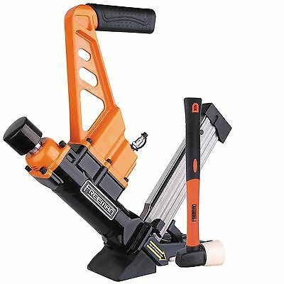 Freeman PDX50C 3-in-1 Flooring Cleat Nailer/Stapler with Fiberglass Mallet New