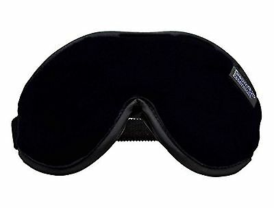 Dream Essentials Escape Luxury Sleep Mask with Free Earplugs and Carry Po... New