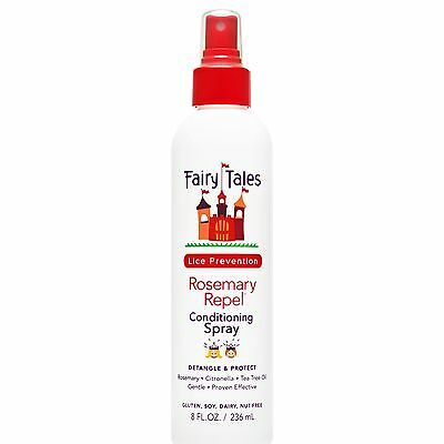 Fairy Tales Repel Leave-In Conditioning Spray Rosemary 8 Fluid Ounce New