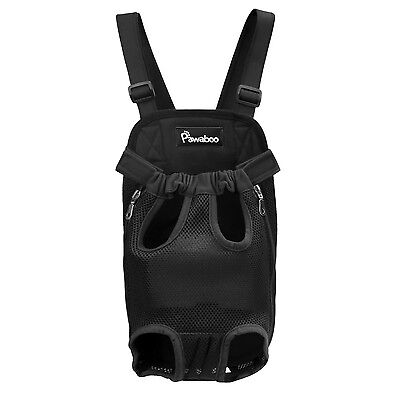 Pawaboo Pet Carrier Backpack Adjustable Pet Front Cat Dog Carrier Backpac... New