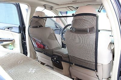 T Tocas Portable Auto Travel Pets Net Barrier Blocks Dogs Access to Car F... New