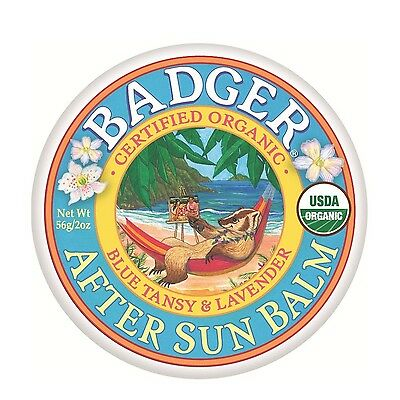 Badger Balms After Sun Balm 56 Grams 2 oz. New