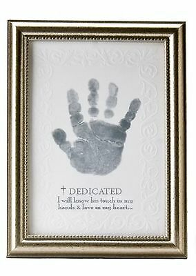 The Grandparent Gift Growing in Faith Handprint Frame Baby Dedication New