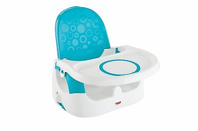 Fisher-Price Deluxe Quick-Clean Portable Booster New
