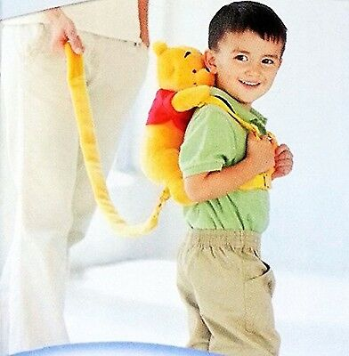 Goldbug Winnie the Pooh Pal 2 in 1 Harness Child Leash - Perfect for Crow... New