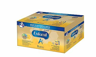 Enfamil A+ Baby Formula Ready to Feed Case 237ml 18 pack New