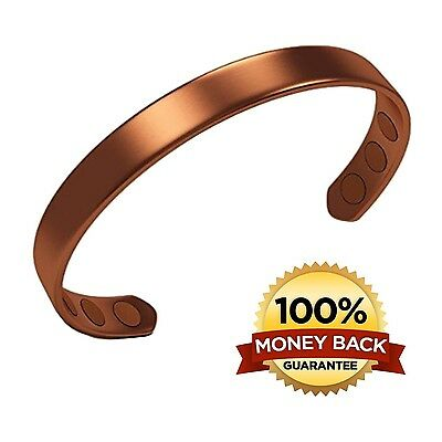Pure Copper Magnetic Bracelet From Earth Therapy - For Men & Women To Giv... New