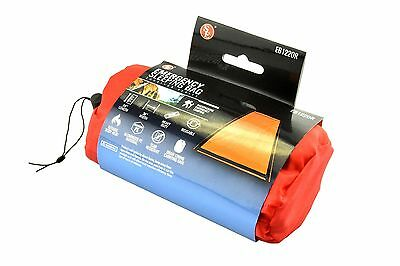 SE EB122OR 84-Inch X36-Inch Orange Heavy Emergency Sleeping Bag New