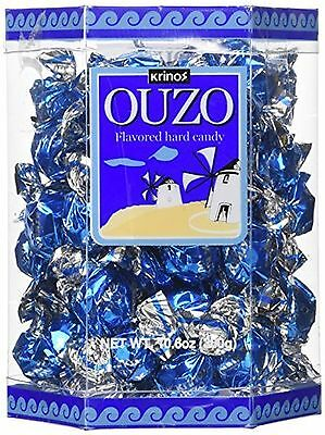 Krinos Ouzo Candy Value 10.6 oz 3 Pack by Krinos New