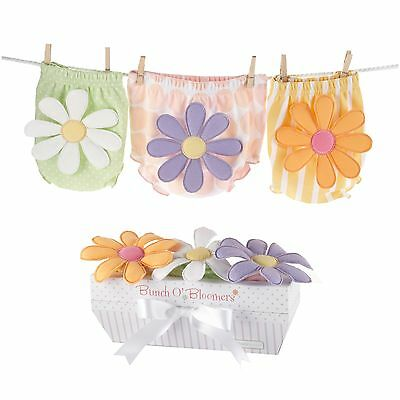 Baby Aspen Bunch O' Bloomers Set of 3 6-12 Months New