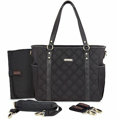timi & leslie Quilted Tote Diaper Bag Soho New