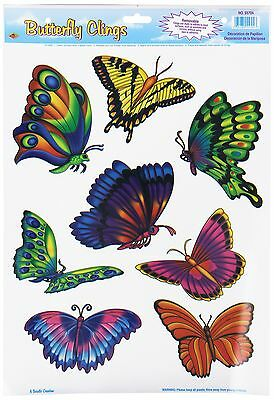 Beistle 55704 Butterfly Clings 12 by 17-Inch New
